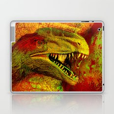 prehistoric extiction   (This Artwork is a collaboration with the talented artist Agostino Lo coco) Laptop & iPad Skin