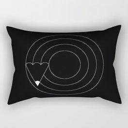 Drawing circles Rectangular Pillow