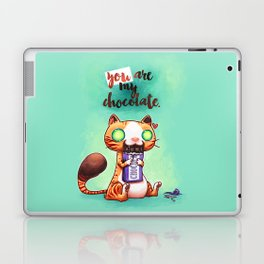 Chocolate addict Laptop & iPad Skin