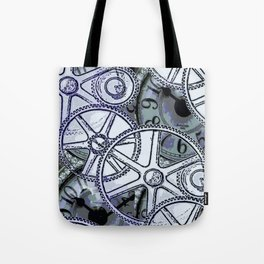 Steampunk Gearwheels Tote Bag