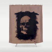 anatomy Shower Curtains featuring Anatomy by Notwhatnot