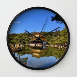 Kinkaku-ji, Golden Pavilion Temple Wall Clock