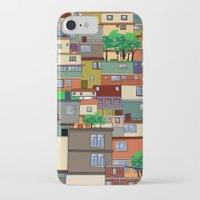 rio de janeiro iPhone & iPod Cases featuring Favela, Rio de Janeiro by Rceeh