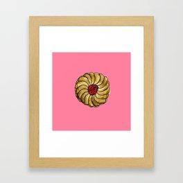 jammy dodger Framed Art Print