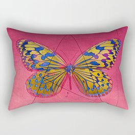 pāpĭlĭo gĕōmētrĭcus  B Rectangular Pillow