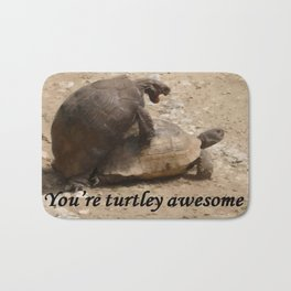 You're Turtley Awesome Bath Mat
