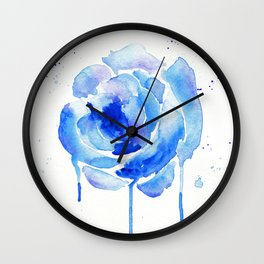 Something Blue Wall Clock