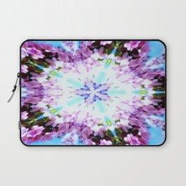 Purple Flower Power Series Laptop Sleeve
