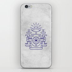 UFO Watchers iPhone & iPod Skin
