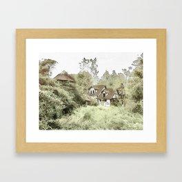 Abandoned Village Framed Art Print