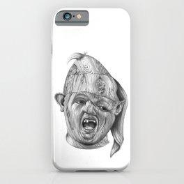 Wood Sloth iPhone Case