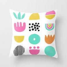 SIMPLE GEOMETRIC 001 Throw Pillow