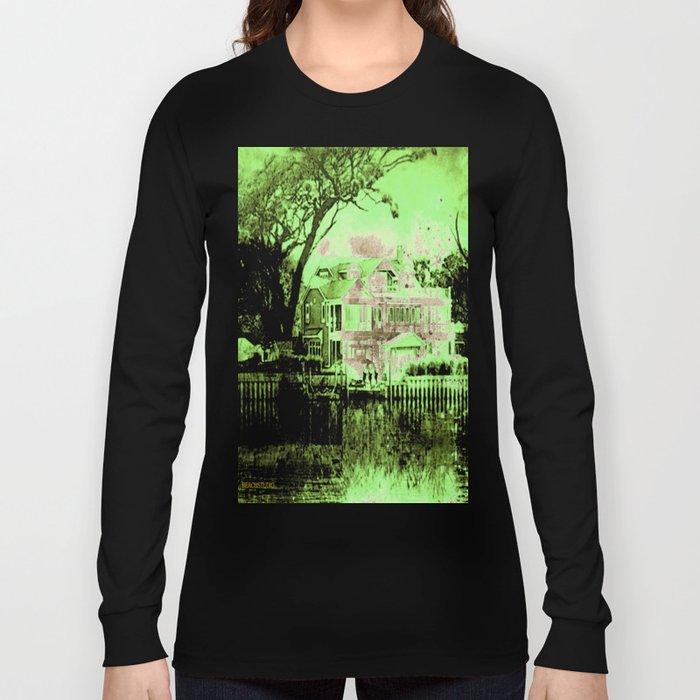 Green Spooky Boathouse Long Sleeve T-shirt