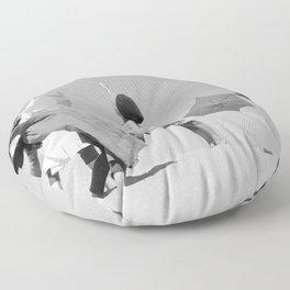 Umbrella ballet Floor Pillow