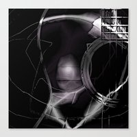 cracked Canvas Prints featuring Cracked by Eric Rasmussen