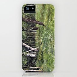 Woodland Forest Landscape Nature Art iPhone Case
