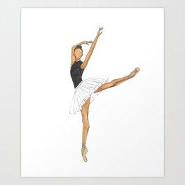 Prima Ballerina Art Print
