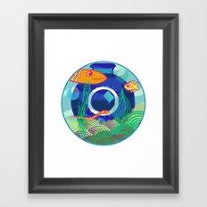 Fish Dreams Framed Art Print