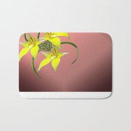 Cowslip Orchid Love Celtic Knotwork Heart Bath Mat