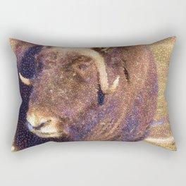 Muskox Mosaic Rectangular Pillow