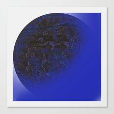 Q-BLUE Canvas Print