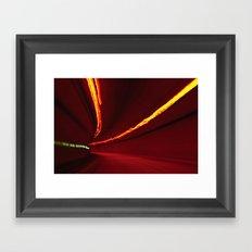 Traffic at warp speed IV Framed Art Print