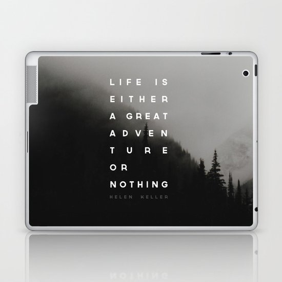 Adventure or Nothing Laptop & iPad Skin