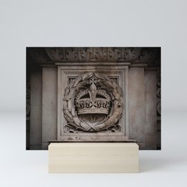 Marble-ous Crown Mini Art Print