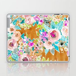 SO LUSCIOUS Colorful Abstract Floral Laptop & iPad Skin