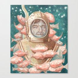 Deep Sea Diver Canvas Print