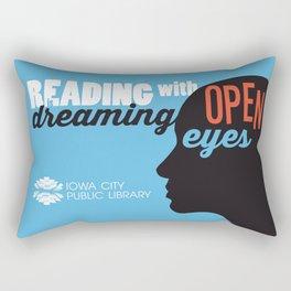 Open Eyes - Iowa City Public Library Rectangular Pillow