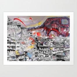 Tbilisi 3 Art Print