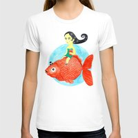 fish T-shirts featuring Fish by gunberk