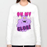 lumpy space princess Long Sleeve T-shirts featuring Lumpy Space Princess by WaXaVeJu