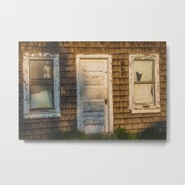 Abandoned Shack, Washburn, North Dakota 2 Metal Print