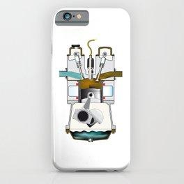 Exhaust Stroke iPhone Case