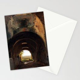 François Marius Granet View Stables Stationery Cards