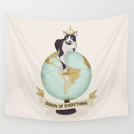 THE QUEEN OF EVERYTHING Wall Tapestry