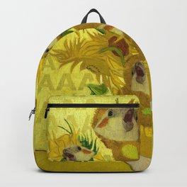 sunflower cockatiel Backpack
