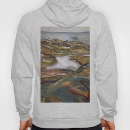 Edvard Munch - Coastal Landscape Hoody