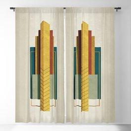 Art Deco Blackout Curtain