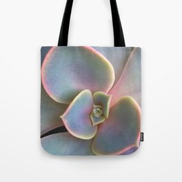 Succulent Dew Drop Tote Bag