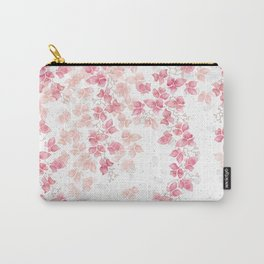 Bougainvillea Floral Vines Carry-All Pouch