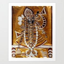 Vishnu Art Print