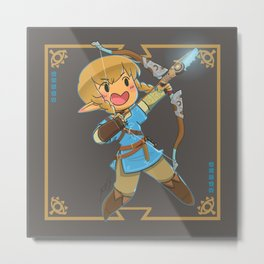 Chibi Linkle Metal Print