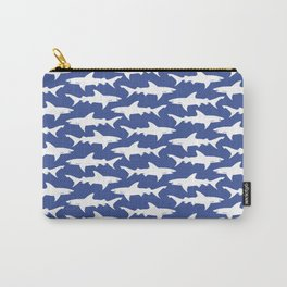School of Sharks Blue Ocean Carry-All Pouch