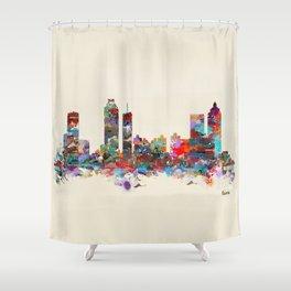 Atlanta Georgia Shower Curtain