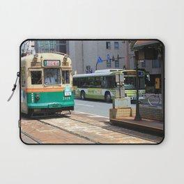 Trams of Hiroshima Laptop Sleeve