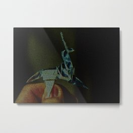 Origami Unicorn: Blade Runner Screenplay Print Metal Print