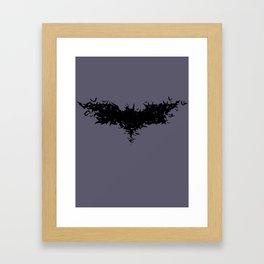 Swarm of Bats - Batception Framed Art Print